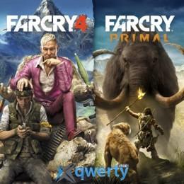 Far Cry Primal + Far Cry 4 (PS4)