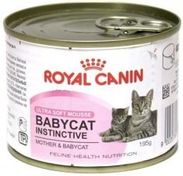 Royal Canin Babycat Instinctive мусс 0,195 кг