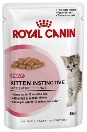 Royal Canin Kitten Instinctive в соусе