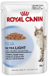 Royal Canin Ultra Light в соусе