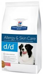 Hills PD Canine D/D с лососем и рисом 2 кг