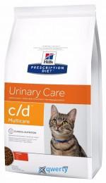 Hills PD Feline C/D Multicare с курицей 0,4 кг
