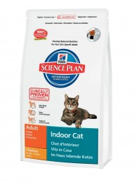 Hills SP Feline Adult Indoor Cat с курицей 4 кг