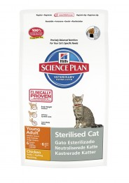 Hills SP Feline Adult Young Sterilised Cat с курицей 1,50 кг