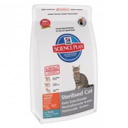 Hills SP Feline Adult Young Sterilised Cat с тунцом 1,50 кг
