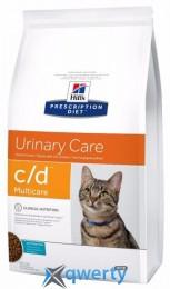 Hills PD Feline C/D Multicare c океанической рыбой 1,5 кг
