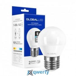 GLOBAL G45 F 5W яркий свет 4100 K 220V E27 AP (1-GBL-142-02)
