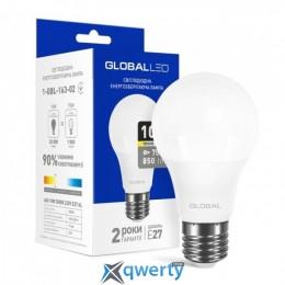 GLOBAL A60 10W мягкий свет 3000K 220V E27 AL (1-GBL-163-02)