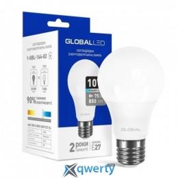 GLOBAL A60 10W яркий свет 4100K 220V E27 AL (1-GBL-164-02)
