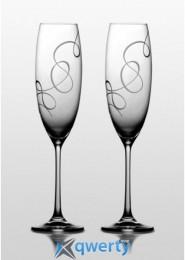 Grandioso набор бокалов для шампанского (Compliment) 2 шт.