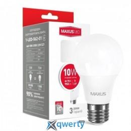 MAXUS A60 10W яркий свет 220V E27 (1-LED-562-01)