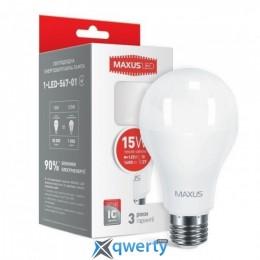 MAXUS A70 15W 3000K 220V E27 (1-LED-567-01)