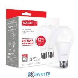 MAXUS A65 12W мягкий свет 220V E27 (по 2 шт.) (2-LED-563-01)
