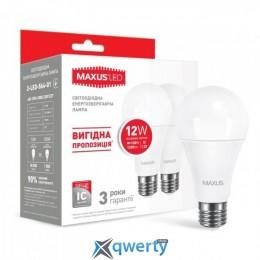 MAXUS A65 12W яркий свет 220V E27 (по 2 шт.) (2-LED-564-01) купить в Одессе