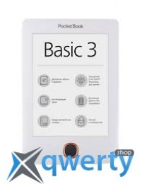 PocketBook 614 Basic3, белый (PB614-2-D-CIS)