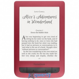 PocketBook 626 Touch Lux 3, Ruby Red (PB626(2)-R-CIS)