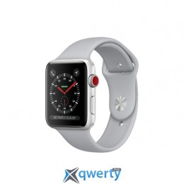 Apple Watch Series 3 GPS + LTE MQK12 42mm Silver Aluminum with Fog Sport Band