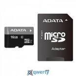 ADATA 16GB microSDHC C10 UHS-I + SD