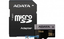 ADATA 16GB microSDHC C10 UHS-I U3 + SD