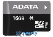 ADATA 16GB microSD class 10 UHS-I (AUSDH16GUICL10-RA1)