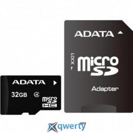 ADATA 32GB microSDHC C4 UHS-I + SD (AUSDH32GCL4-RA1)