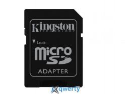 Kingston 32GB microSDHC C10 UHS-I U3 R90/W45MB/s 4K + SD адаптер
