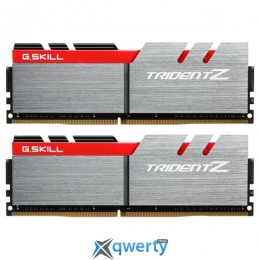 G.Skill DDR4-3000 16GB PC4-24000 (2x8) Trident Z Silver/Red (F4-3000C14D-16GTZ)