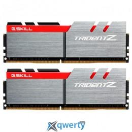 G.Skill DDR4-3600 16GB PC4-28800 (2x8) Trident Z Silver/Red (F4-3600C17D-16GTZ)