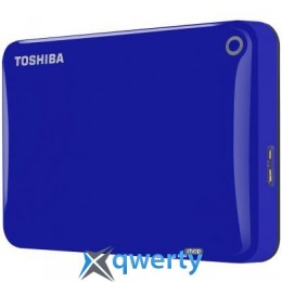 2.5' 3Tb Toshiba Canvio Connect II Blue (HDTC830EL3CA)