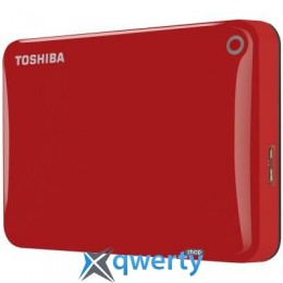 2,5' 3Tb Toshiba Canvio Connect II Red (HDTC830ER3CA) купить в Одессе