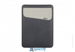 Moshi Muse 12 Microfiber Sleeve Case Graphite Black for MacBook 12 (99MO034003)