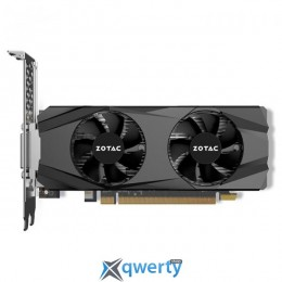 Zotac PCI-Ex GeForce GTX 1050 Ti Low Profile 4GB GDDR5 (128bit) (1290/7000) (DVI, HDMI, DisplayPort) (ZT-P10510E-10L)