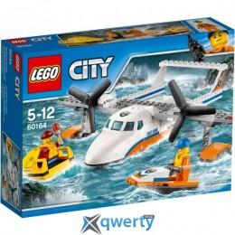 LEGO City Спасательный самолет береговой охраны 141 деталь (60164)