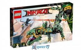 LEGO NINJAGO Механический Дракон Зеленого Ниндзя 544 детали (70612)