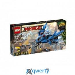 LEGO NINJAGO Самолёт-молния Джея 876 деталей (70614)