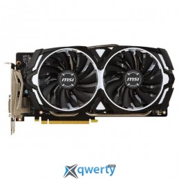MSI PCI-Ex GeForce GTX 1060 Armor V1 3GB GDDR5 (192bit) (1506/8008) (DVI, 2 x HDMI, 2 x DisplayPort) (GTX 1060 ARMOR 3G V1)