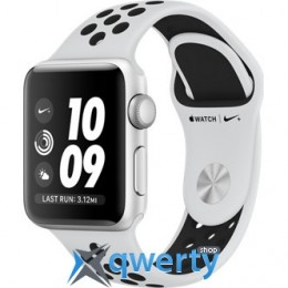 Apple Watch Series 3 Nike+ GPS MQKX2 38mm Silver Aluminum Case with Pure Platinum/Black Nike Sport Band