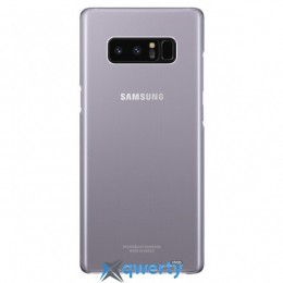 Samsung Clear Cover для смартфона Galaxy Note 8 (N950) Orchid Gray