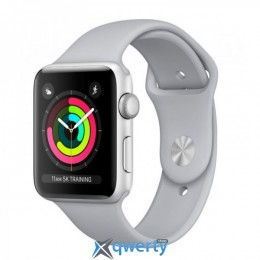 Apple Watch Series 3 GPS MQKU2 38mm Silver Aluminum Case with Fog Sport Band