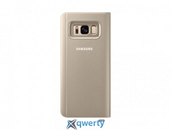 Samsung Clear View Standing Cover для смартфона Galaxy S8 (G950) Gold