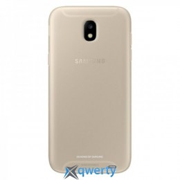 Samsung Jelly Cover для смартфона Galaxy J5 2017 (J530) Gold