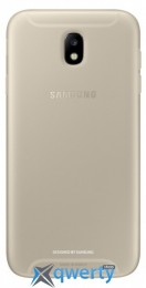 Samsung Jelly Cover для смартфона Galaxy J7 2017 (J730) Gold