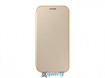 Samsung Neon Flip Cover для смартфона Galaxy A3 2017 (A320) Gold