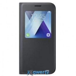 Samsung S View Standing Cover для смартфона Galaxy A7 2017 (A720) Black