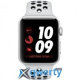 Apple Watch Series 3 Nike+ (GPS + LTE) MQLC2 42mm Silver Aluminum Case with Pure Platinum/Black SportBand купить в Одессе