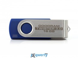 GOODRAM USB 16GB UTS2 (Twister) Blue (UTS2-0160B0R11)