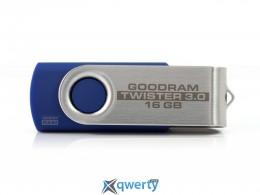 USB 16GB GOODRAM UTS2 (Twister) Blue (UTS2-0160B0R11)