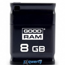 GOODRAM USB 8GB UPI2 (Piccolo) Black (UPI2-0080K0R11)