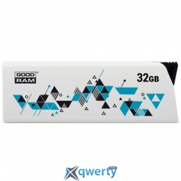 USB 32GB GOODRAM UCL2 (Cl!ck) White (UCL2-0320W0R11)