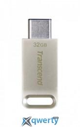USB3.1 32GB Type-C Transcend JetFlash 850 Silver (TS32GJF850S)